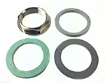 Hansa Z.200.223.901 - 3 pc mounting kit M33x1 1/2""